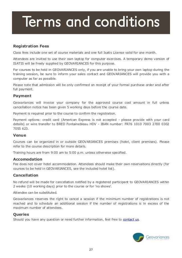 training terms and conditions template training terms and conditions template images template