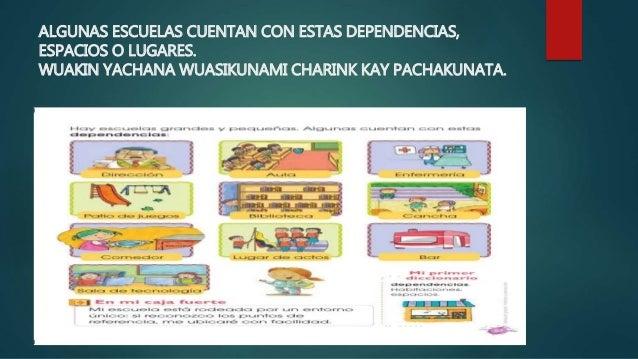 Las dependencias de la escuela la escuela for Dependencias de la escuela