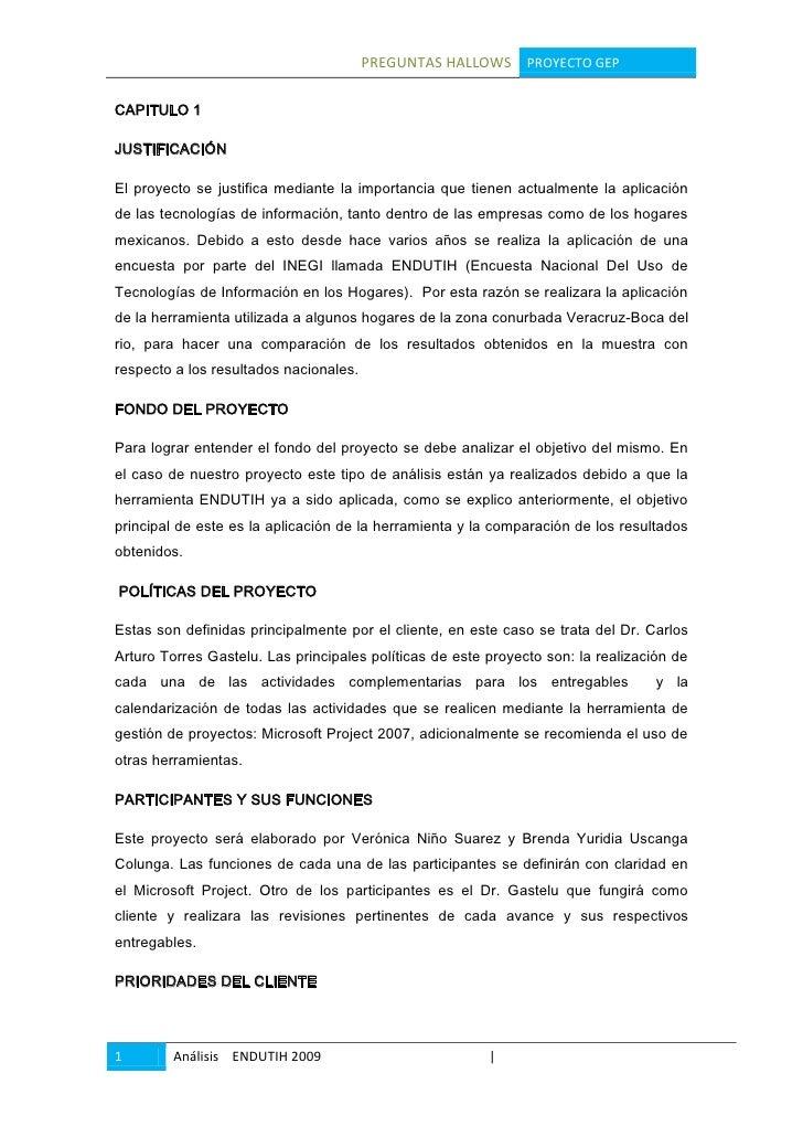 CAPITULO 1<br />JUSTIFICACIÓN<br />El proyecto se justifica mediante la importancia que tienen actualmente la aplicación d...