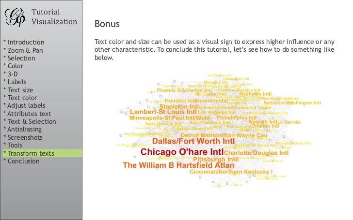 Tutorial          Visualization   Bonus * Introduction           Textcolorandsizecanbeusedasavisualsigntoexpre...