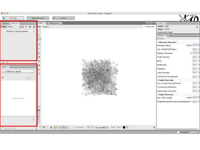 Interactive visualization and exploration of network data