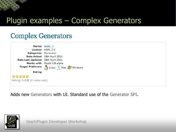 Gephi Plugin Developer Workshop Javadoc Netbeans
