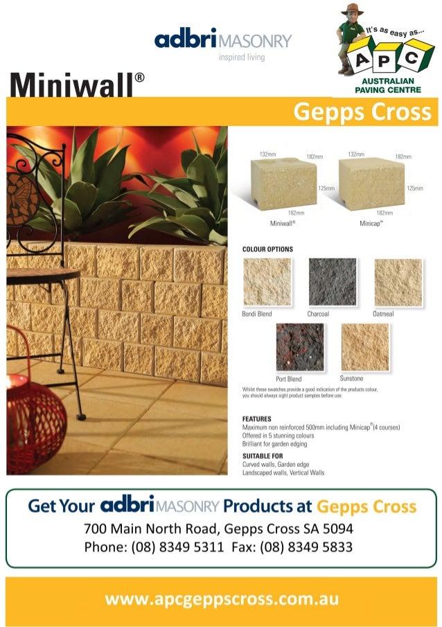 Miniwall -APC Gepps Cross