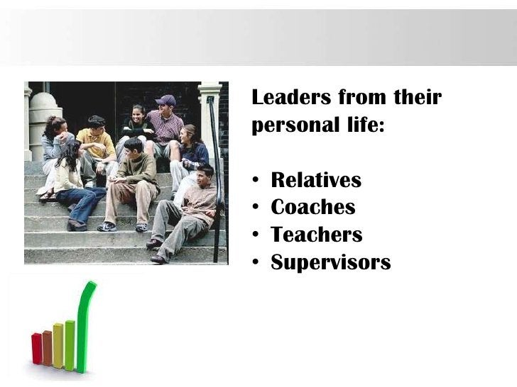 Leaders from theirpersonal life:•   Relatives•   Coaches•   Teachers•   Supervisors                     Page 7