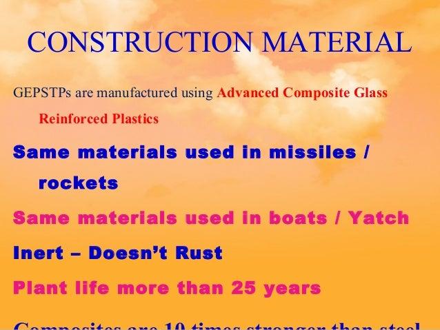 Rust Building Material Rockets