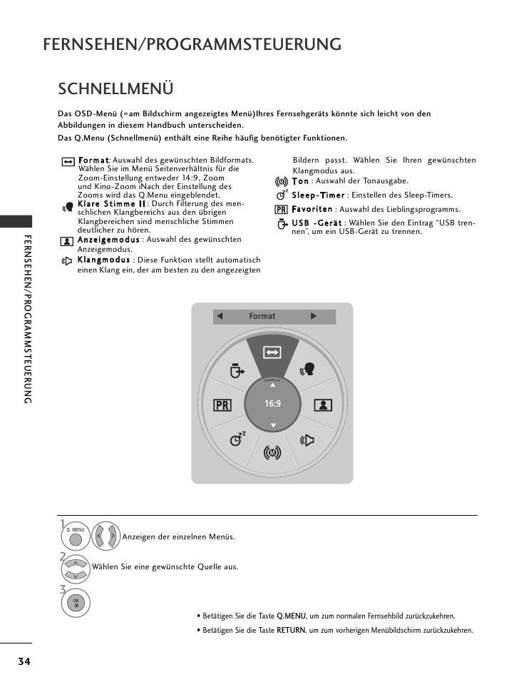 Bedienungsanleitung Hotel TV LG 26LH200H