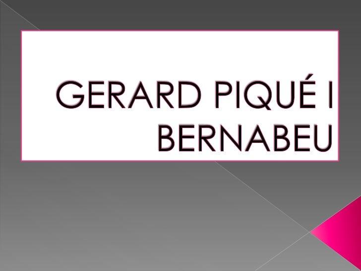 Gerard Piqué i Bernabeu