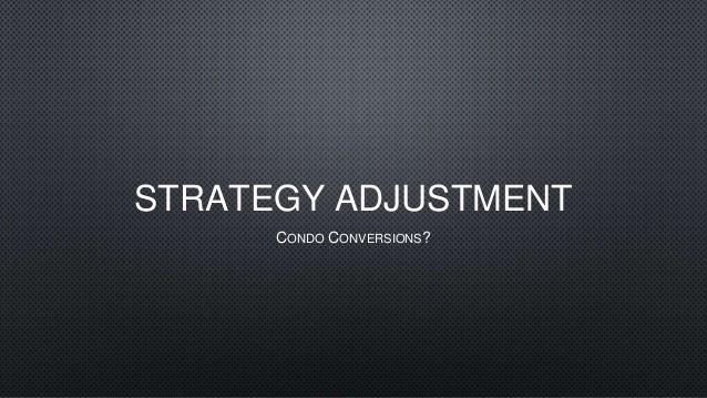 Strategy Adjustment - Gerard Yetming