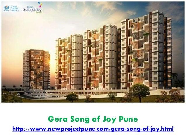 Gera Song of Joy Pune http://www.newprojectpune.com/gera-song-of-joy.html