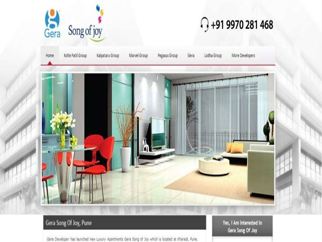 About Developer:- Welcome to Gera Developments, creators of premium residential and commercial projects. We strive for exc...