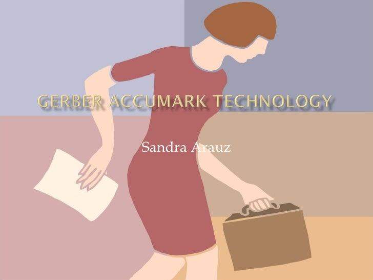 Gerber Accumark Technology