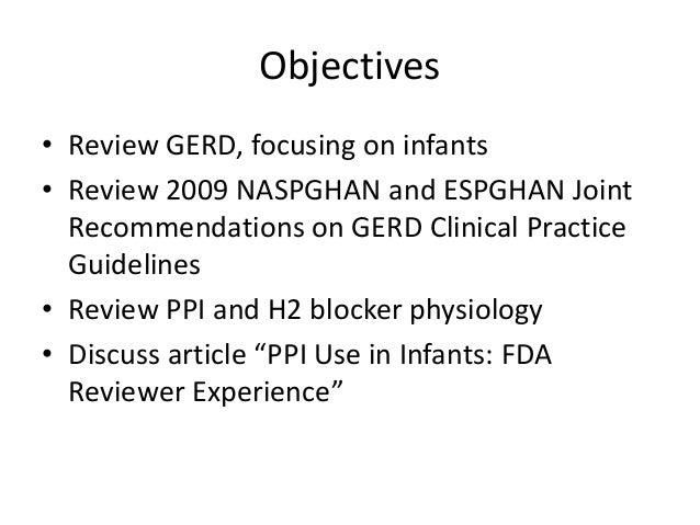 Gerd in infants