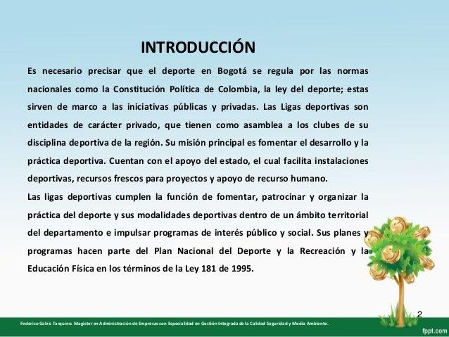"""Ausencia de Administradores Deportivos en las Ligas ubicadas en la """"UDS"""" Slide 2"""