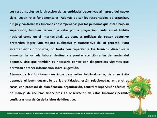 """Ausencia de Administradores Deportivos en las Ligas ubicadas en la """"UDS"""" Slide 3"""