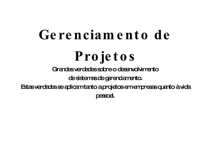 Diploma gerenciamento de projetos