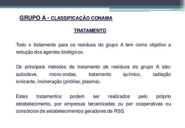 GRUPO B – Resíduos QuímicosCONCEITOSResíduos que apresentam risco potencial à saúde pública e ao meioambiente devido às su...