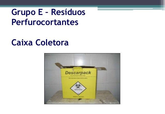 Coletorde resíduos biológicos