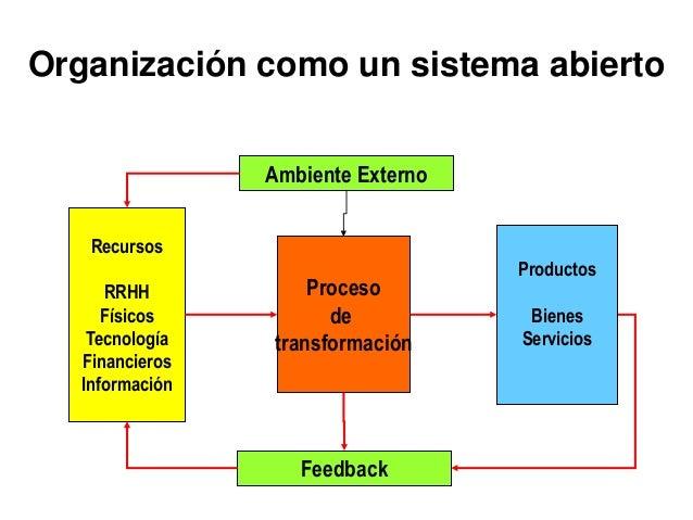LA ORGANIZACIÓN Y LA NECESIDAD DE ADMINISTRARLA Organización dos o mas personas que trabajan juntas de manera estructurada...