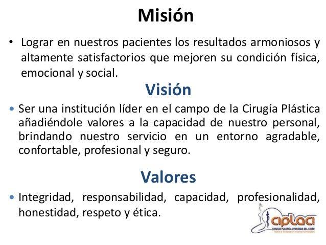 """Centro Medico Dr. Ovalle Nuestra Filosofía... • """"Nuestra filosofía de trabajo está basada en el respeto y cumplimiento de ..."""