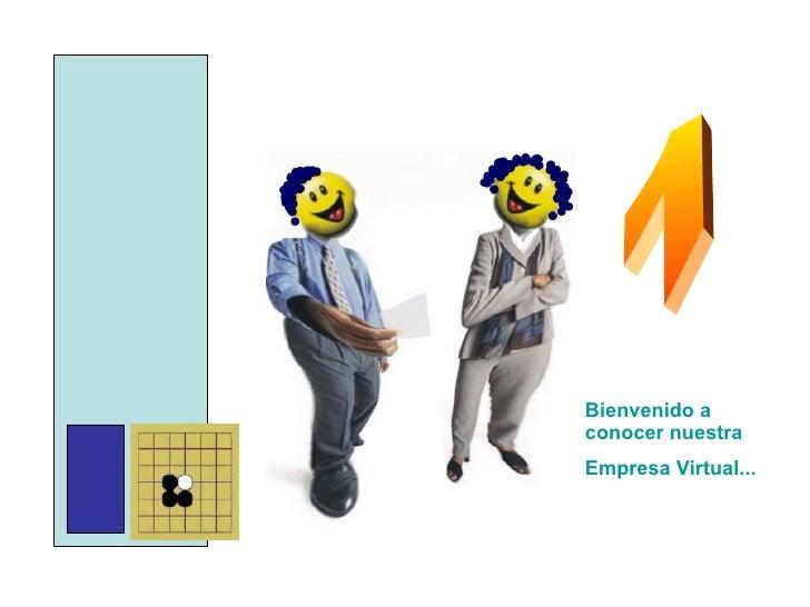 Bienvenido a conocer nuestra Empresa Virtual... 1