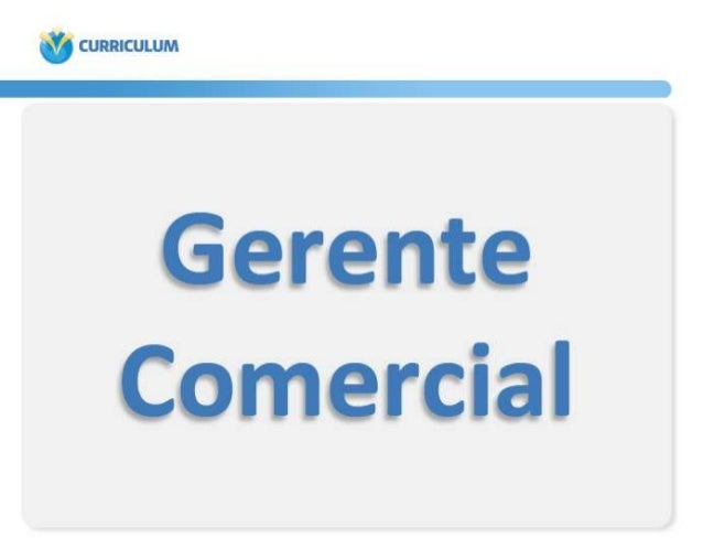 GerenteComercial