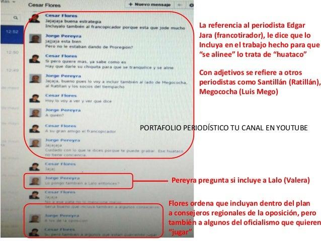 Gerente del gobierno regional césar flores involucrado en complot contra peridistas según luis mego diaz Slide 3