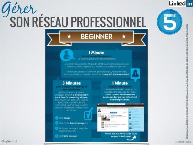 Go To Next LevelsChristelle Letist SON RÉSEAU PROFESSIONNEL Gérer http://www.digitalinformationworld.com/2013/12/how-to-in...