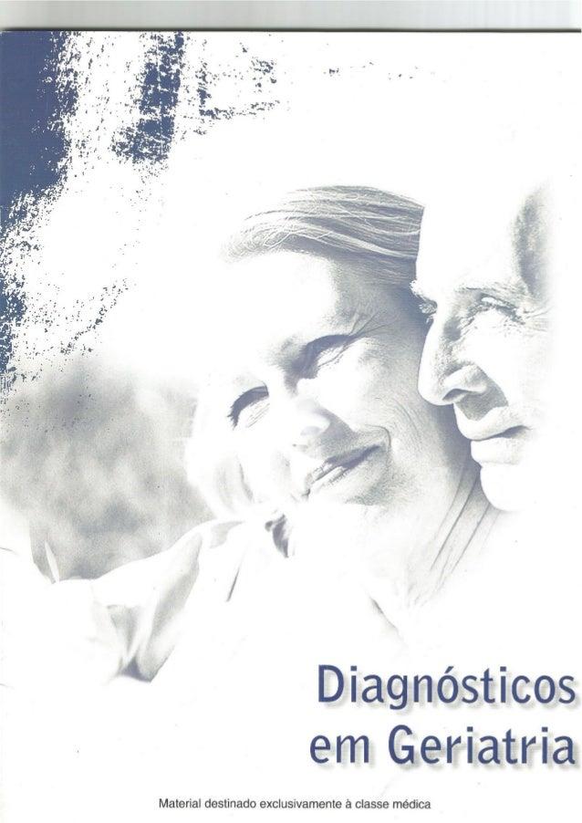 Diagnósticos em Geriatria