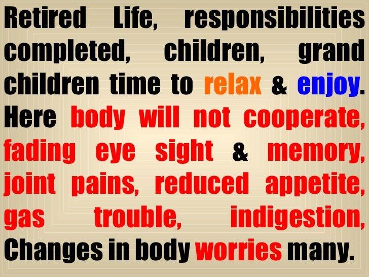Ayurveda for better Geriatric Care Slide 3
