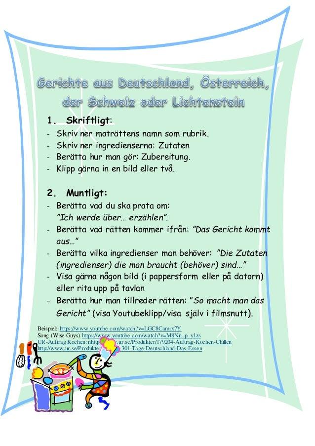 Gerichte Aus Deutschland Sterreich Der Schweiz Und