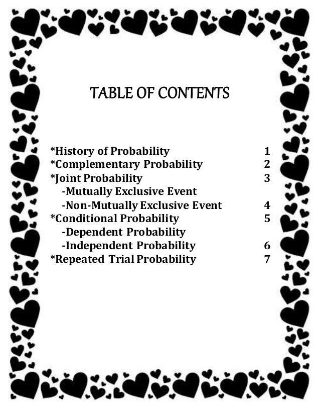 History of mathematics probability