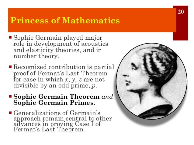 Fermats theorem and its role in the development of mathematics