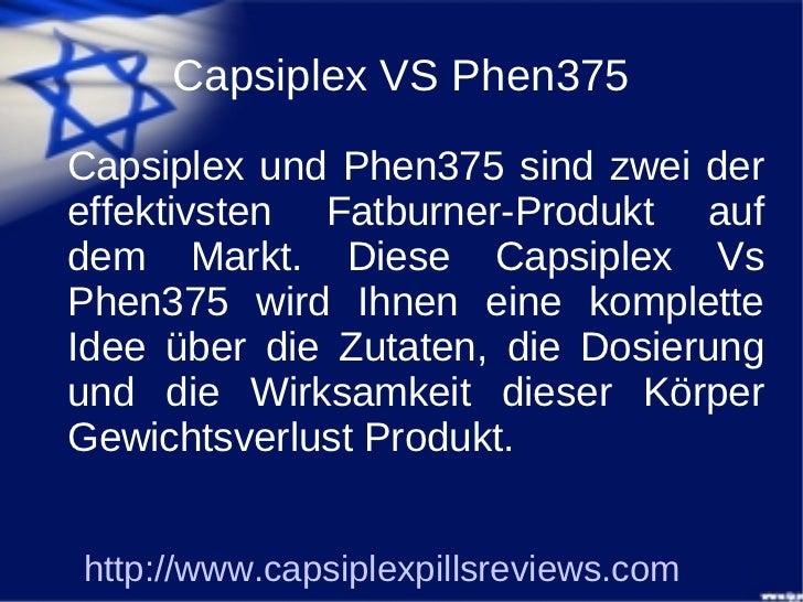 Capsiplex VS Phen 375 Slide 2