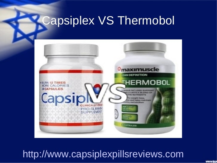 Capsiplex VS Thermobolhttp://www.capsiplexpillsreviews.com