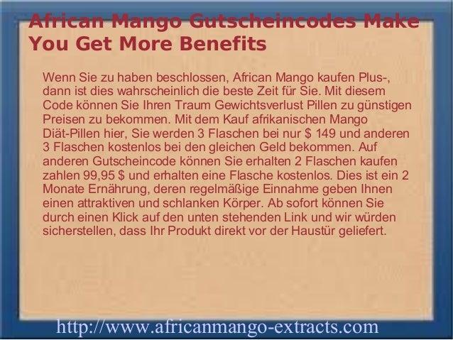 African Mango Gutscheincodes MakeYou Get More Benefits Wenn Sie zu haben beschlossen, African Mango kaufen Plus-, dann ist...