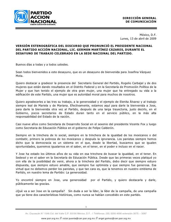 DIRECCIÓN GENERAL                                                                                                  DE COMU...