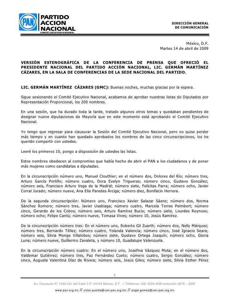 DIRECCIÓN GENERAL                                                                                                       DE...
