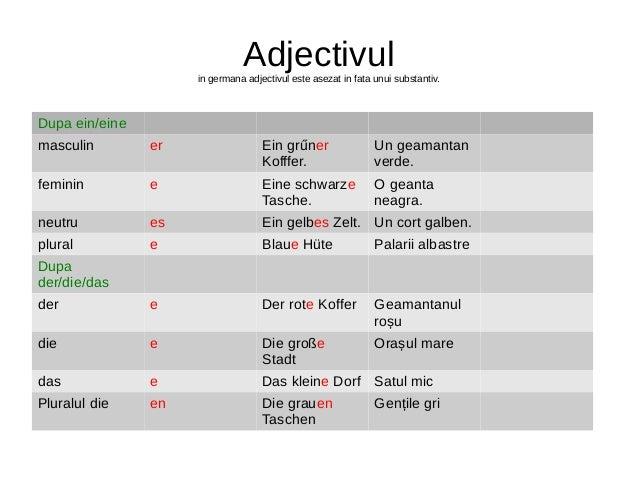 Prepozitii Germana
