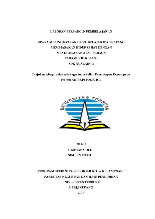 Contoh Laporan Pkp Matematika Kelas 6 Kumpulan Contoh Laporan