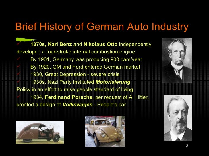 german automobile industry background The automotive industry includes the production of cars and car parts since the early 20th century, it has been one of canada's most significant manufacturing .