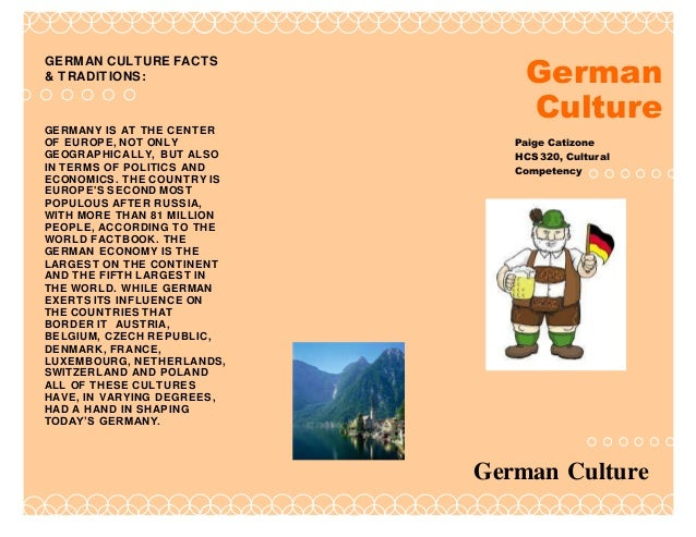 facts about german culture and traditions