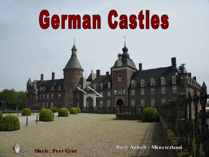 German Castles Burg Anholt - Münsterland Music: Peer Gynt