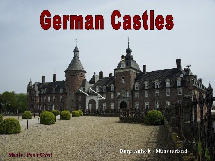 German Castles Burg Anholt - Münsterland Music: Peer Gynt