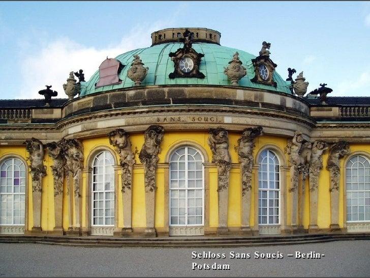 Schloss Sans Soucis – Berlin-Potsdam