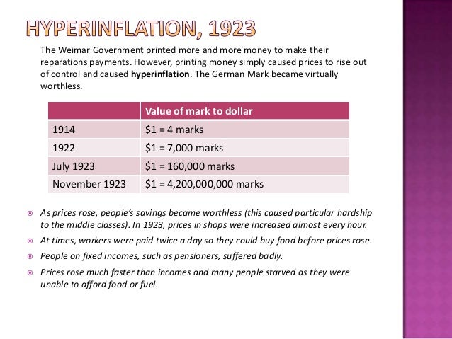 essay on hyperinflation By 2009, hyperinflation had rendered the currency worthless photo by robin  hammond/panos brett scott writes about financial activism and.