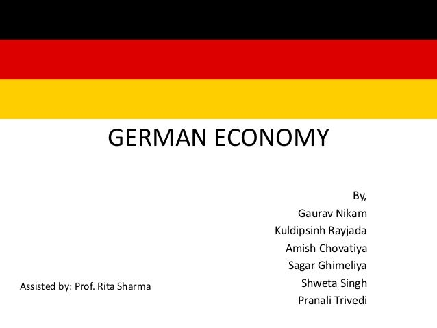 """a look at the german economy What often look like """"rigidities""""—constraints on managerial power—at the level of the individual company turn out to be powerful sources of flexibility for the german economic system as a."""