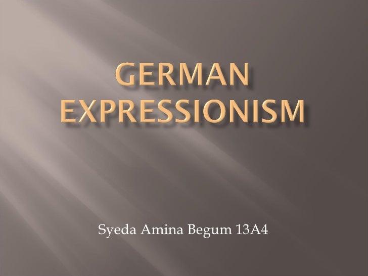Syeda Amina Begum 13A4