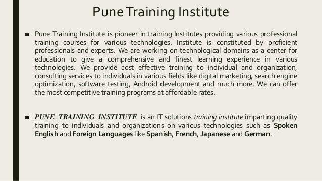 German Language Classes - Courses in Pune | Pune Training