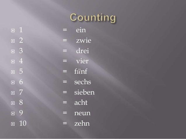             11 12 13 14 15 16 17 18 19 20  = = = = = = = = = =  elf zwolf dreizehn vierzehn fünfzehn sechzehn si...