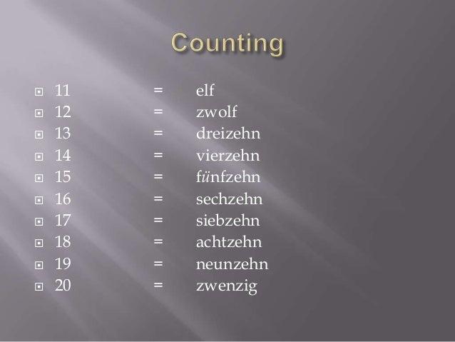 German lesson